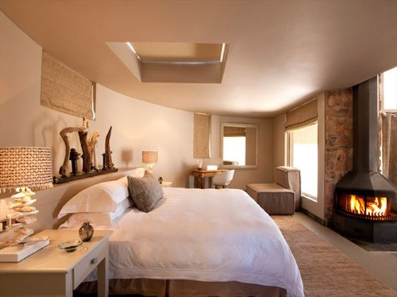 Bedroom at Sossusvlei Desert Lodge