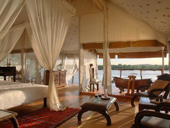 Bedroom at The Retreat Selous
