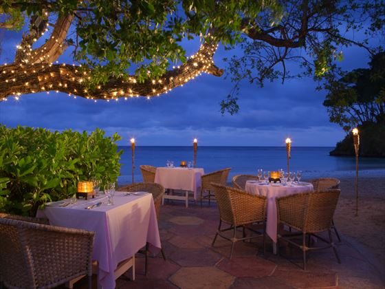 Bella Vista restaurant at Couples Sans Souci