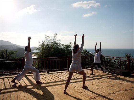 Sea-View Yoga Pavilion, Belmond Napasai