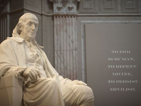 Benjamin Franklin Memorial