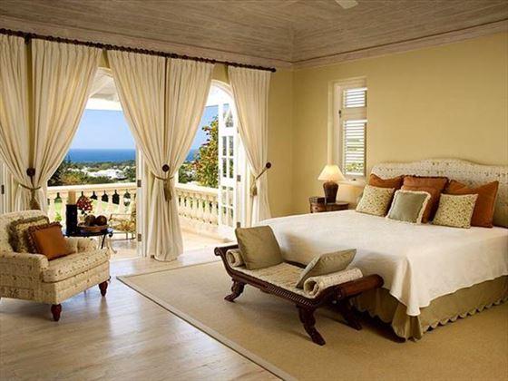 The stylish double bedroom