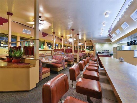 Diner style restaurant