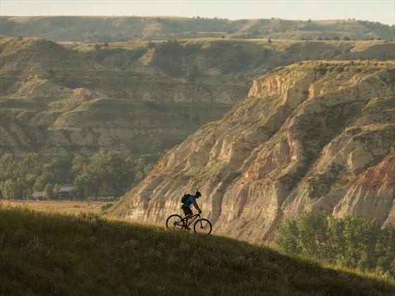 Biking the Maah Daah Hey, North Dakota