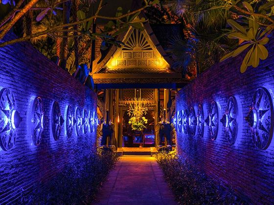Black Ginger Restaurant Entrance, The Slate, Phuket