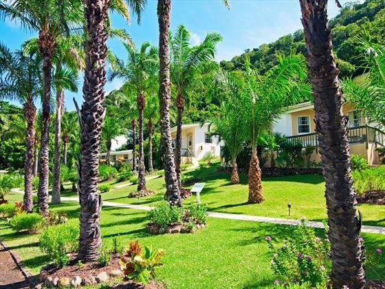 Blue Horizons resort gardens