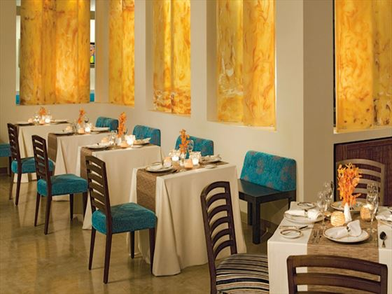 Blue Mountain Caribbean restaurant at Secrets St James