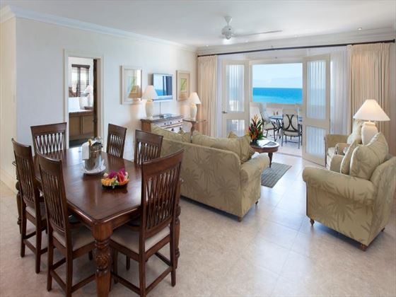 Blue Waters Hotel Cove Suites Penthouse lounge
