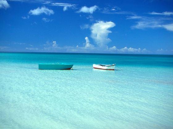 Boats off Turners Beach