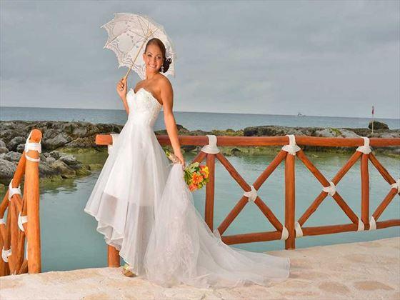 Bride at Hard Rock Hotel Riviera Maya
