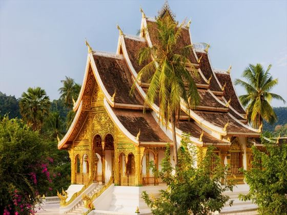 Buddhist temple in Luang Prabang