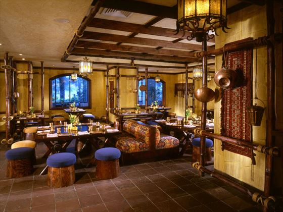 Bukhara restaurant at Kempinski Hotel Ajman