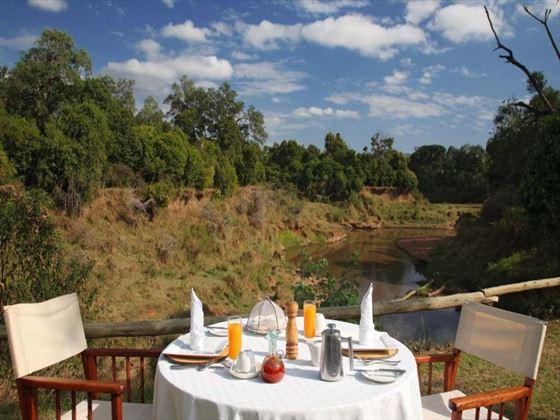 Bush breakfast at Il Moran