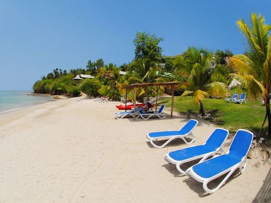 The beach at Calabash Cove Resort & Spa