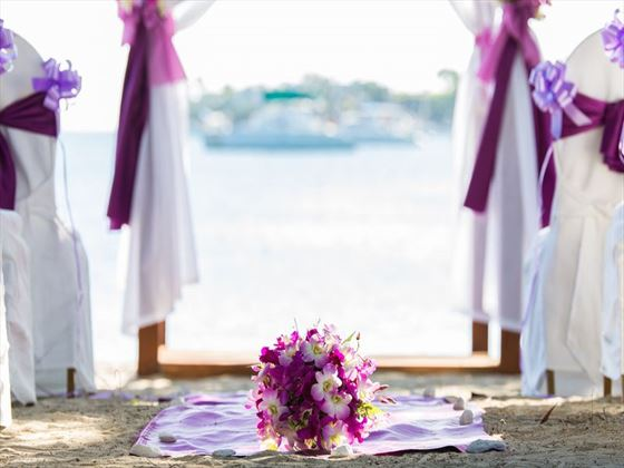 Beautiful weddings at the Calabash