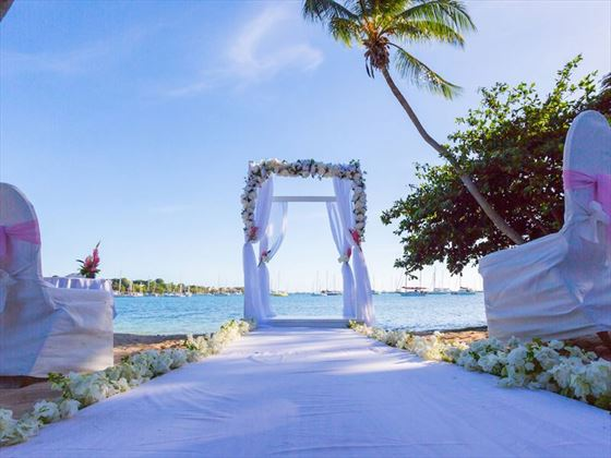 Beautiful weddings at Calabash Luxury Boutique Hotel & Spa