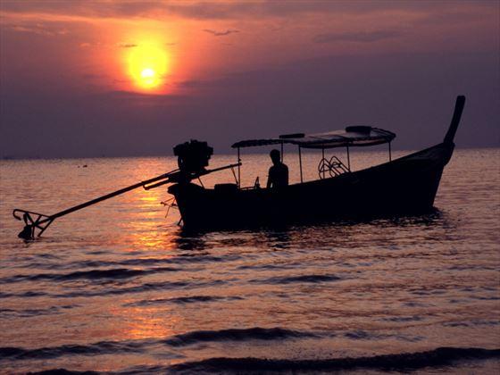 Cambodia river fishing