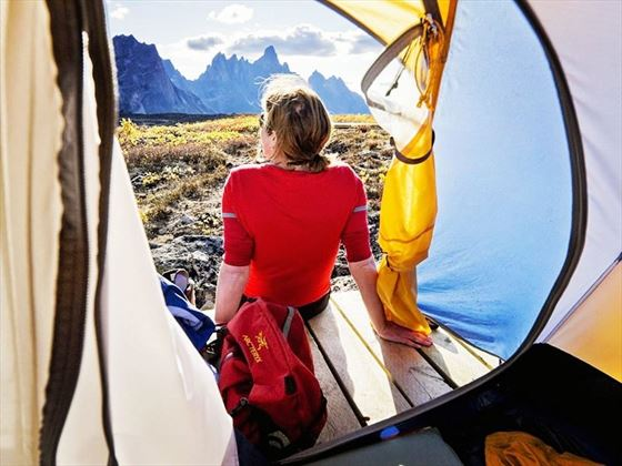 Camping in Tombstone Territorial Park