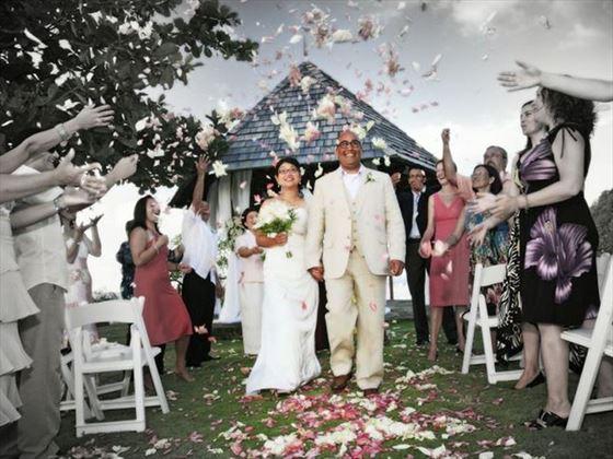 Cap Maison St Lucia Caribbean Wedding Tropical Sky