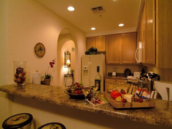 Caribe Cove Resort kitchen