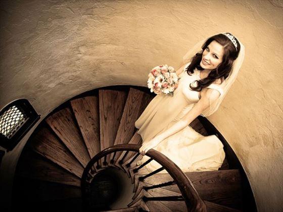 Bride at Casa Feliz