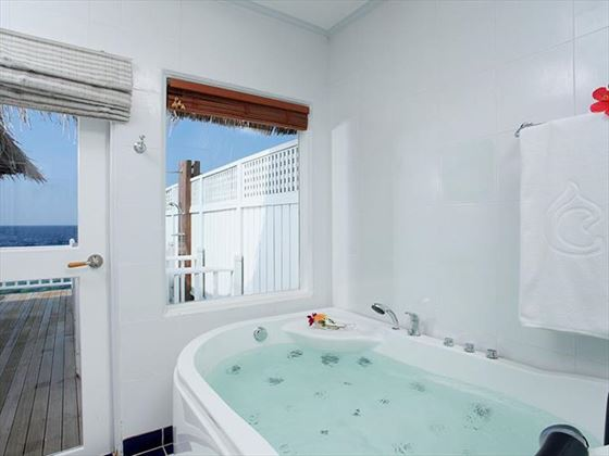 Centara Grand Island Resort & Spa Water Villa bathroom