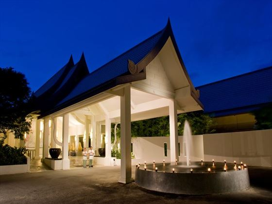 Entrance to the Centara Kata Resort