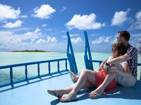 Honeymoon moments on Cinnamon Hakuraa Huraa Maldives
