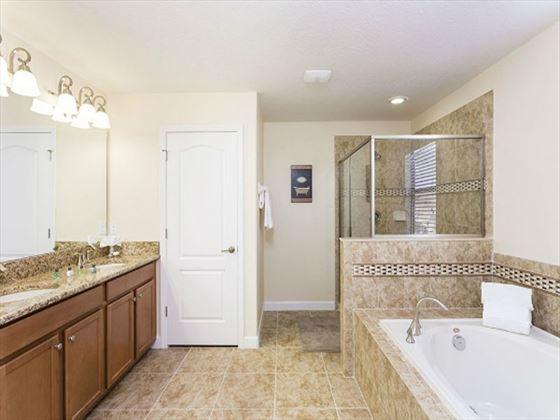 Championsgate Resort Platinum Homes Typical Bathroom