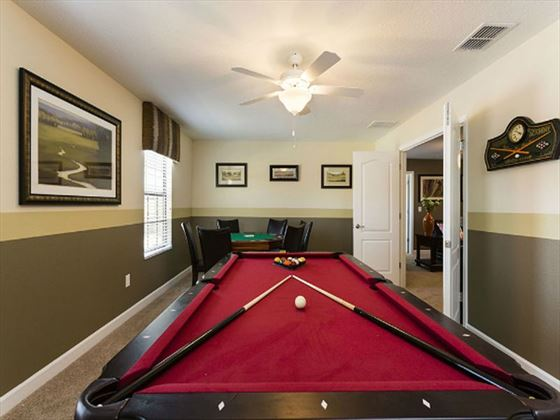 Championsgate Resort Platinum Homes Typical Games Room
