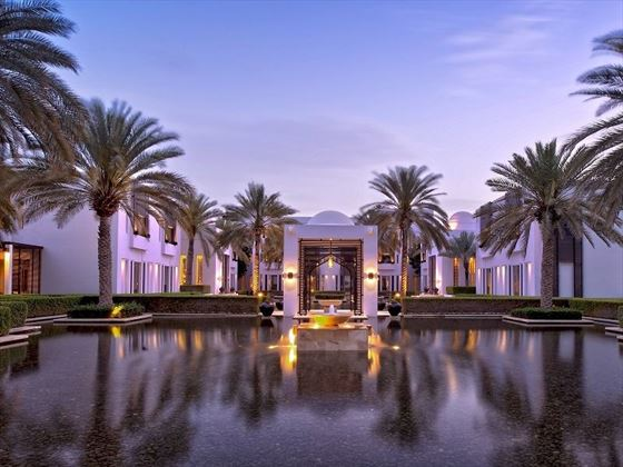 The Chedi - Oman water gardens