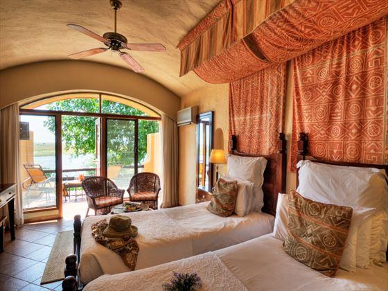 Chobe Game Lodge bedroom