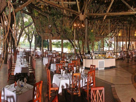 Chobe Safari Lodge restaurant