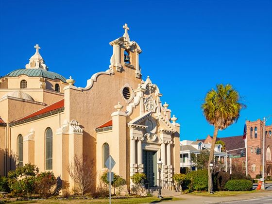 Christ Episcopal Church, downtown Pensacola, Florida