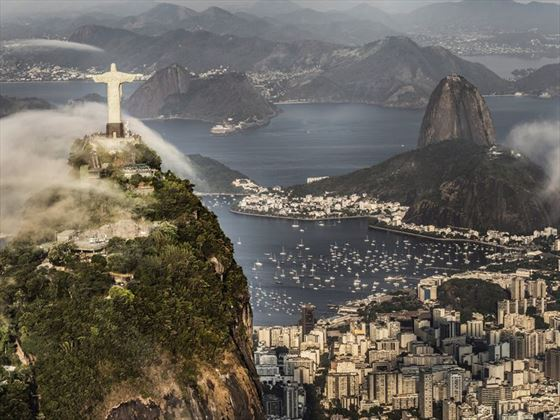 Christ the Redeemer and Sugarloaf Mountain