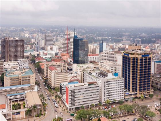 City view of Nairobi