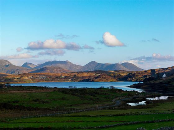 View from Clifden