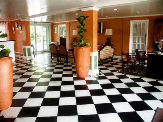 Coco Palm lobby area