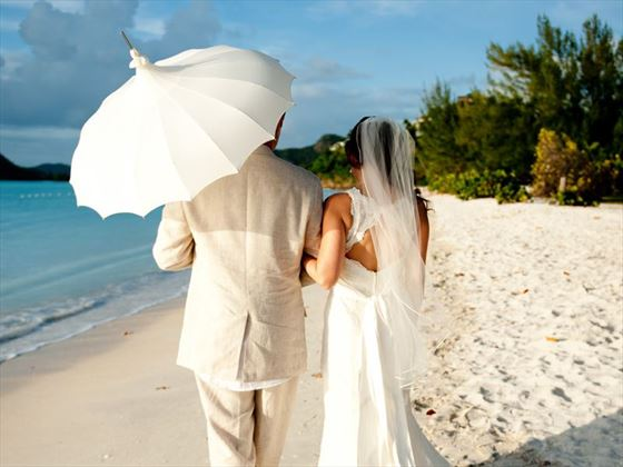 Stylish weddings at Cocobay