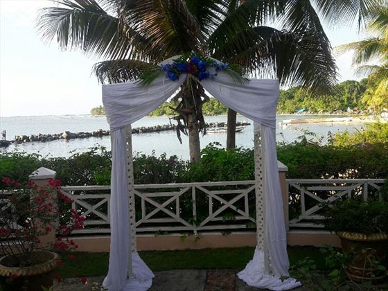 Beautuful wedding setting