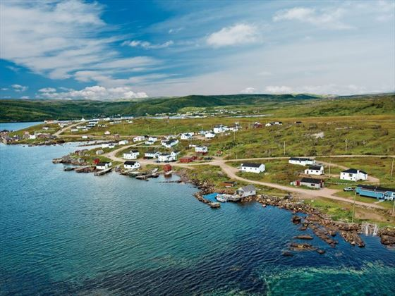 The UNESCO world heritage site of Red Bay
