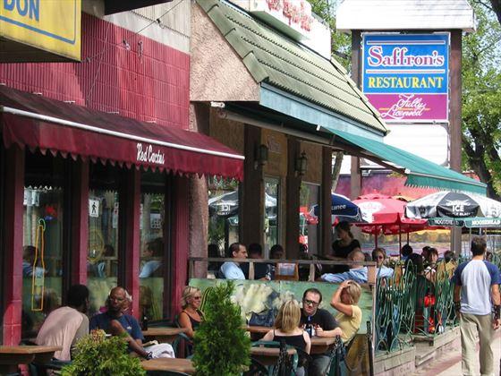 Cafes in Corydon Avenue, Winnipeg