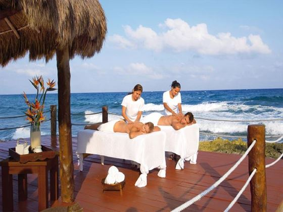 Couples spa treatments at Dreams Puerto Aventuras