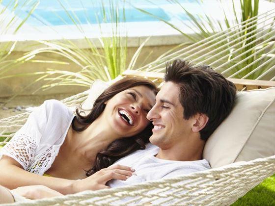 Relaxing honeymoon