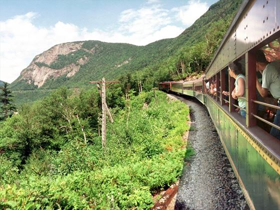 Crawford Notch train, White Mountains