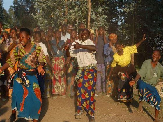 Cultural village visits at Sabyinyo Silverback Lodge