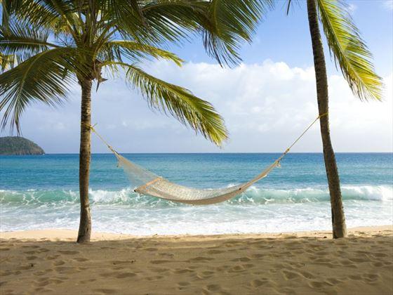 Relaxing honeymoon moments, Curtain Bluff