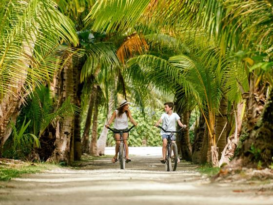 Cycling in Tahiti