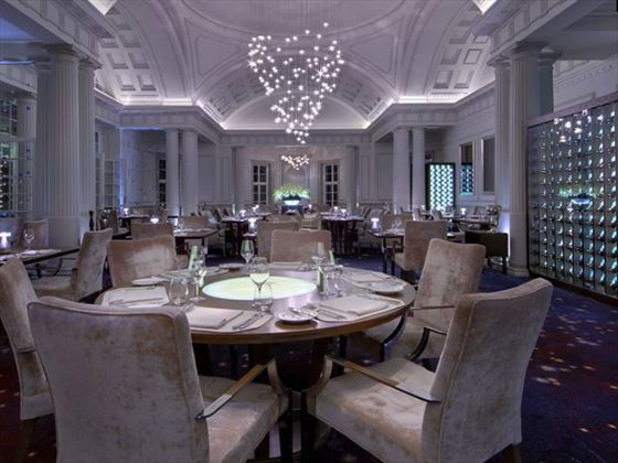 Dining area at Mount Nelson, Cape Town