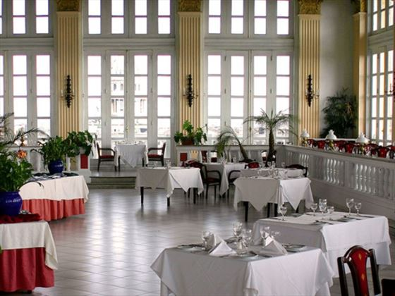 Dining at Hotel Sevilla
